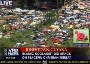 خبرگذاری تخیل گرای فاکس نیوز را ببینید که این رویداد را به حمله ی اسلام گرایان نسبت داده است .