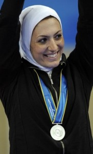 پریسا فرشیدی برنده ی مدال نقره ی تکواندو